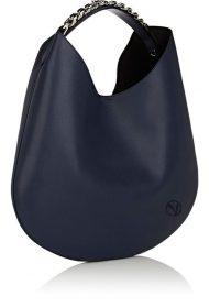 borsa donna monospalla a catena blu