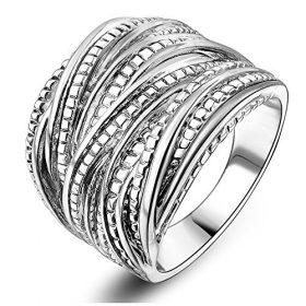 anello donna filo ss